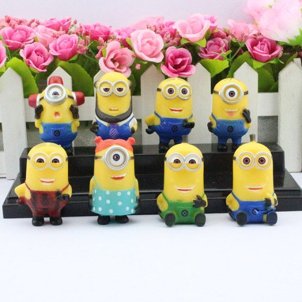 Despicable Me Minions Figurine 8pc Set Only $16.56 Shipped!