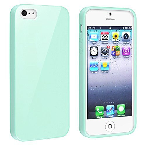 mint green jelly case for iphone