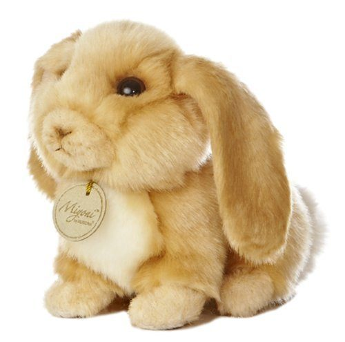 "Miyoni Lop Eared Bunny 8"" Plush Only $7.20!"