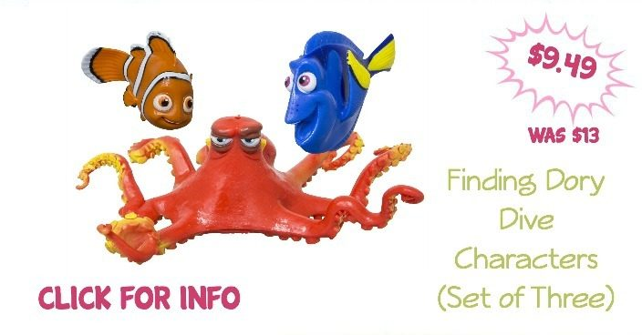 Finding Dory Dive Characters (Set of Three) Only $9.49! (Was $13