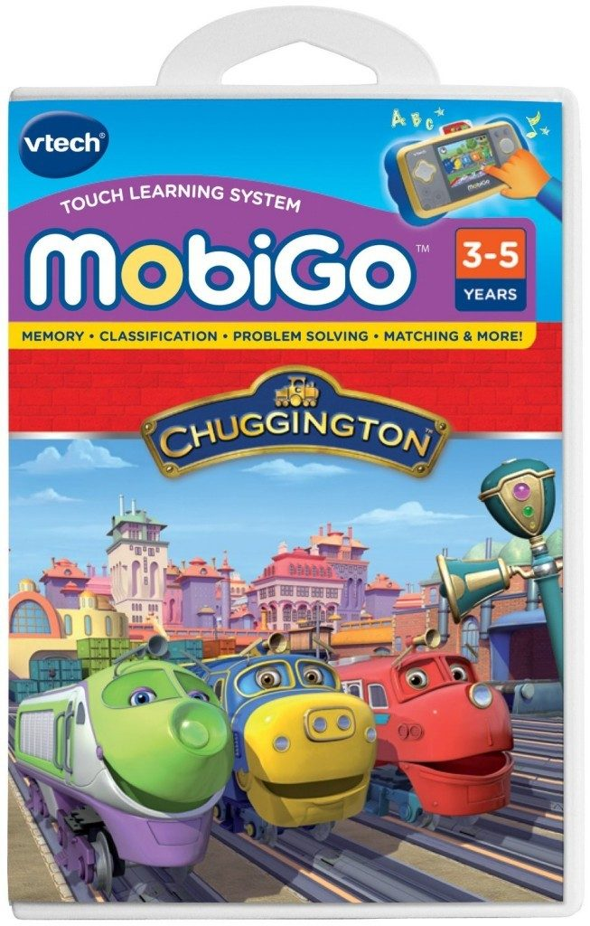 VTech MobiGo Software - Chuggington 70% OFF - Only $5.99!