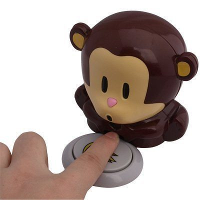 ADORABLE Monkey Nail Dryer Only $3.61 + FREE Shipping!
