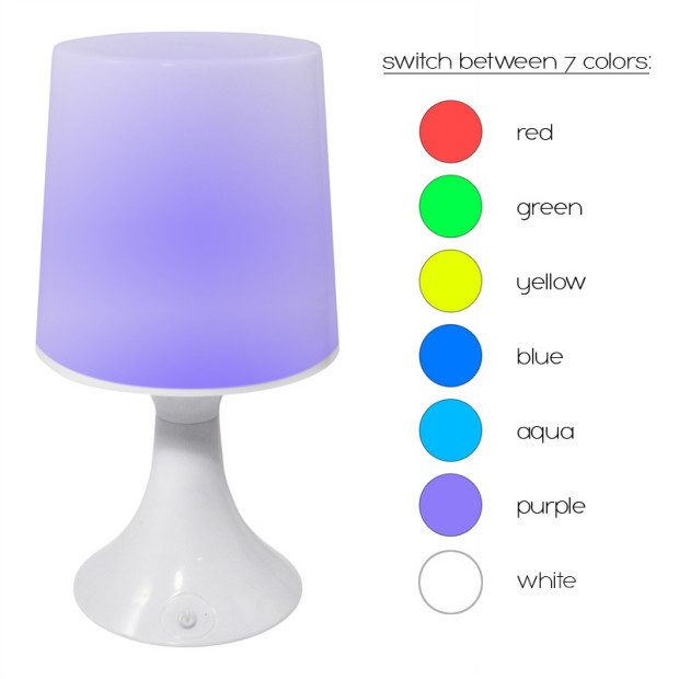 Color Changing Touch Lamp Only $5.49 Shipped!