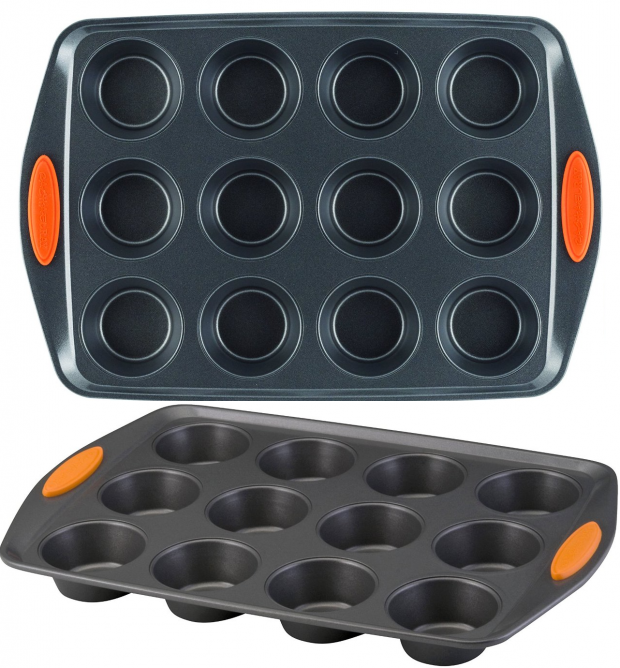 Rachael Ray Oven Lovin' Non-Stick 12-Cup Muffin & Cupcake Pan Just $11.99!  (Reg. $36)