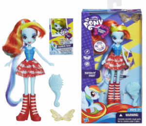 My Little Pony Equestria Girls Rainbow Dash Doll Just $7.38 (reg. $14.99)!