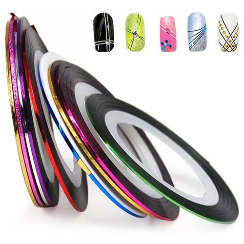 Set of 10 Nail Decoration Stickers Only $1.46 + FREE Shipping!