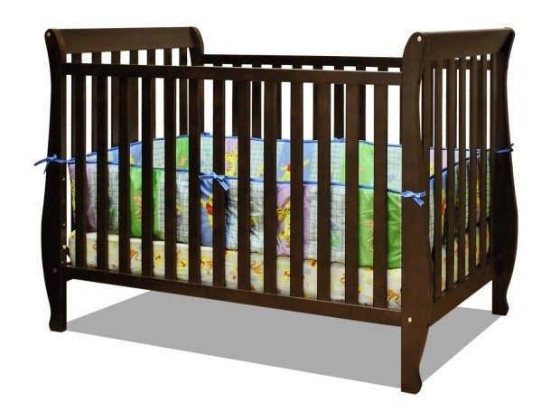 Athena Naomi 4 in 1 Crib with Toddler Rail, Espresso Only $102.99! Down From $225! Ships FREE!