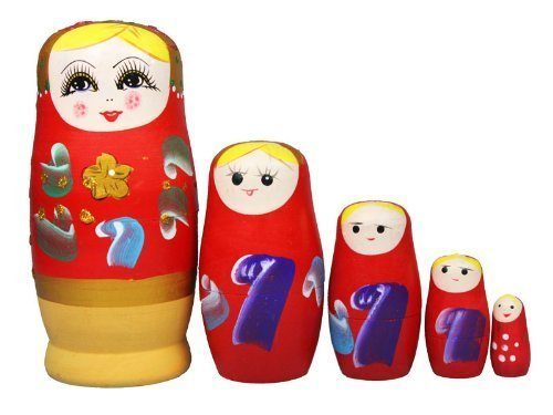 Set of 5 Russian Nesting Dolls Just $4.59 Shipped!