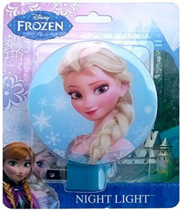 Ice Princess Elsa Disney Frozen Night Light Just $4 Down From $10!