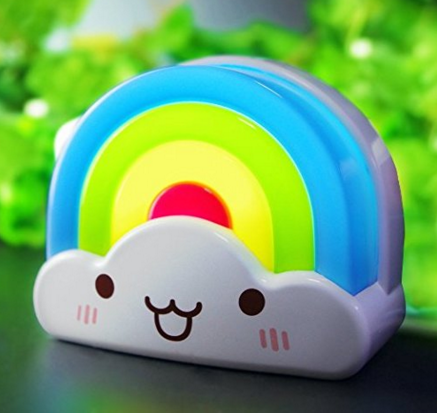 Rainbow Toddler Nightlight With Voice Light Sensor Just $10 Down From $30!