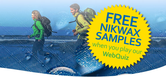 FREE Nikwax Sample!