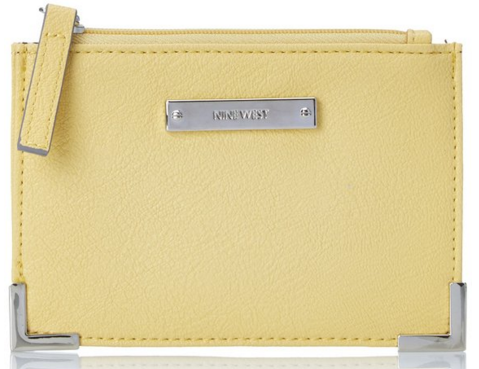 Nine West Scale Up Faux Leather Card Case Just $7 Down From $25!