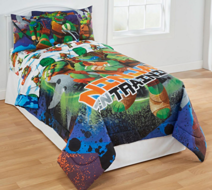 TMNT Ninja Turtles Training 3pc Twin Bed Sheet Set Just $25 Down From $50!