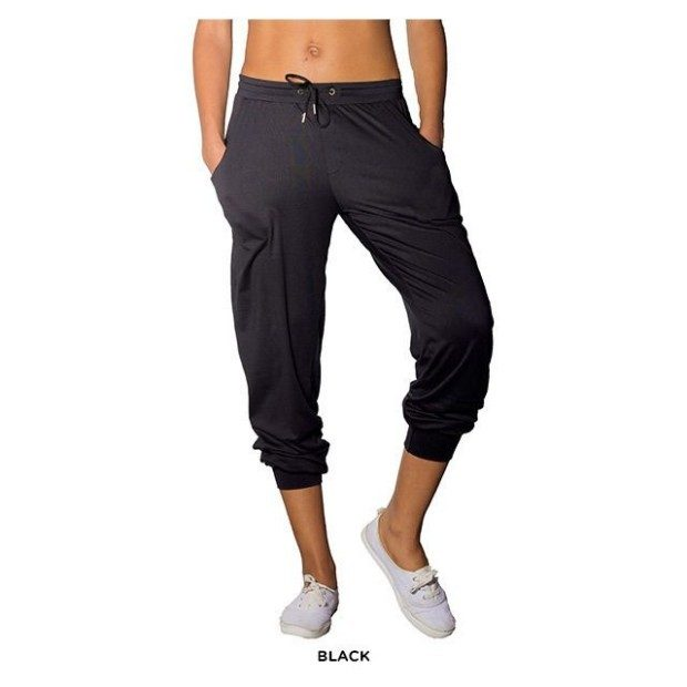 Soft Jersey Drawstring Jogger Pants - 2 Pk  Only $21 Shipped!