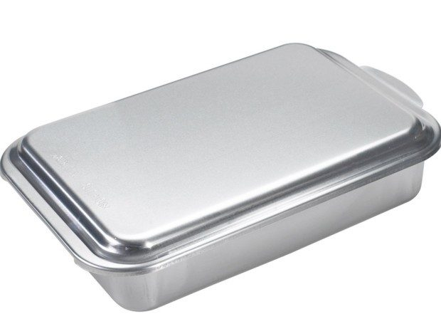 Nordic Ware Classic Metal 9x13 Covered Cake Pan Only $13.99! (Reg. $24)