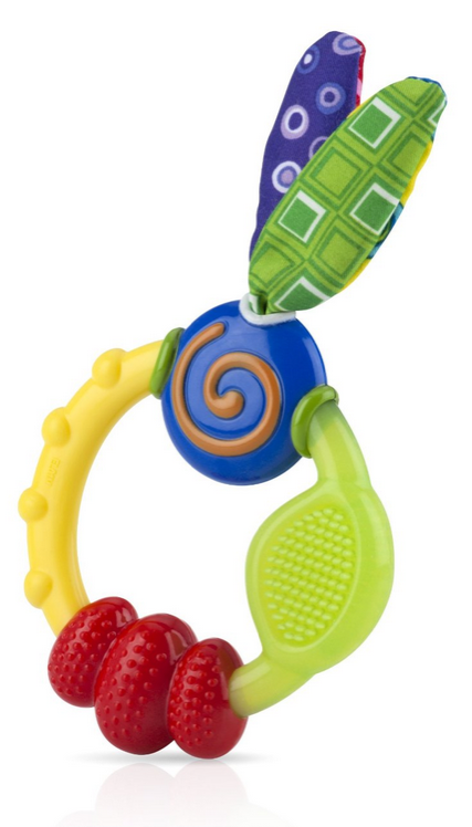 Nuby Wacky Teething Ring Only $3.99!
