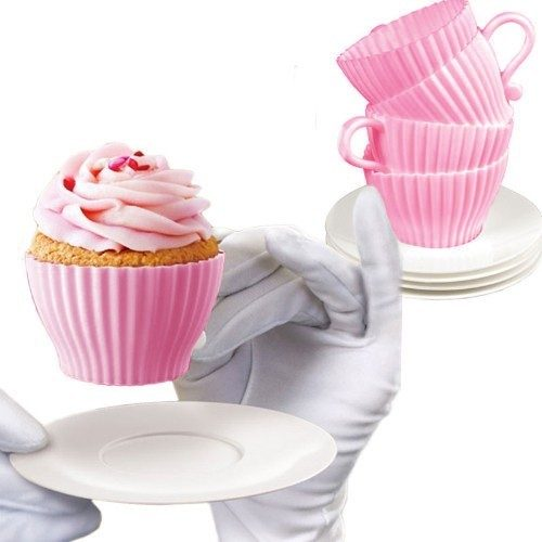 8 Piece Set Bake and Serve Tea Cups and Saucers Just $6.99 Down From $24.99! Ships FREE!