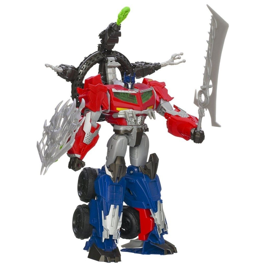 Transformers Beast Hunters Optimus Prime Action Figure Only $19.49! (reg. $59.99)