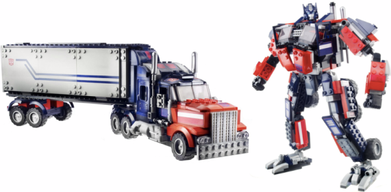 KRE-O Transformers - Optimus with Twin Cycles Just $20.99! (reg. $69.99)