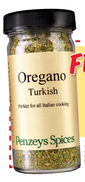 FREE 1/2 Cup Jar Of Penzey's Spices Turkish Oregano!!