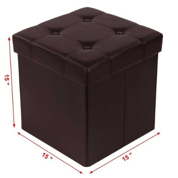 Folding Storage Ottoman Just $22.99! Ships FREE!