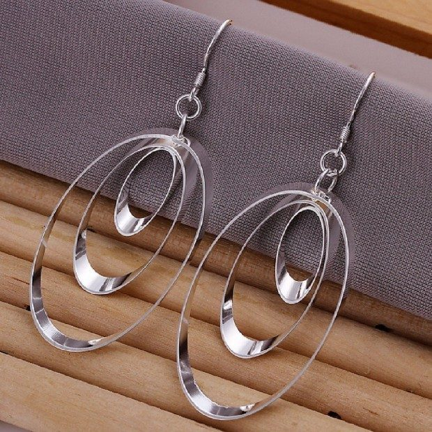 Oval Fashion Earrings Only $3.16!  Ships FREE!