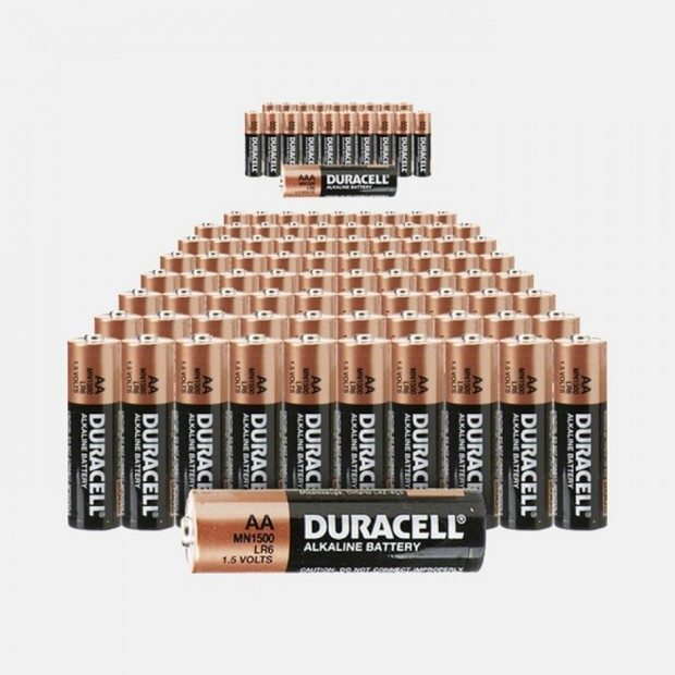 Duracell Batteries 80 Pack - 40 AA + 40 AAA ONLY $29.99 + FREE Shipping!