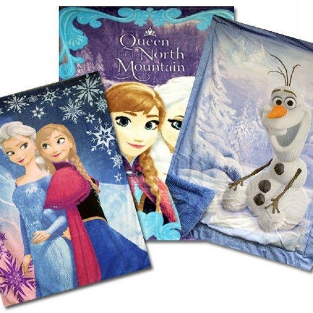 Disney Frozen Royal Plush Mink Raschel Twin Blanket Only $29.99 Plus FREE Shipping!