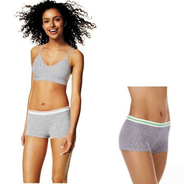 3 Pairs: Ladies Hanes Premium Sporty Cotton Boy Shorts - in Assorted Colors Only $12.99 + FREE Shipping!