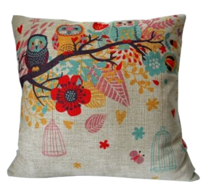 HOSL Cotton Linen Square Decorative Throw Pillow Case Just $3.10 Down From $39!  FREE Shipping!