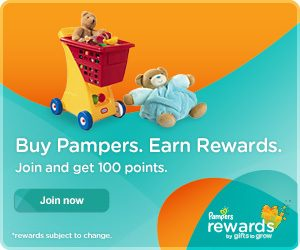 Pampers Gifts to Grow More Points!