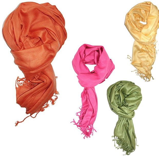 Pashmina In Beautiful Solid Colors As Low As $6.45!