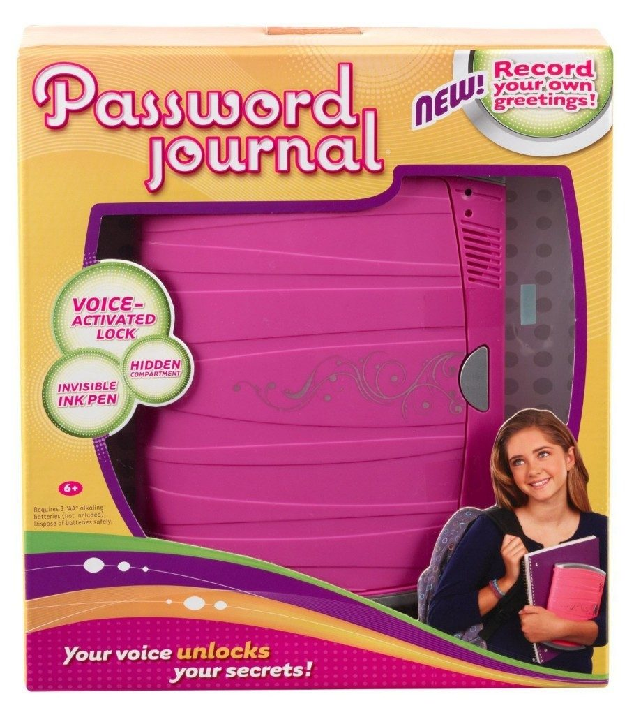 Girl Tech Password Journal 8 Only $15.19 (Reg. $26.99)!