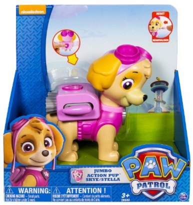Paw Patrol Jumbo Action Pup Toy, Skye Just $9 Down From $18!