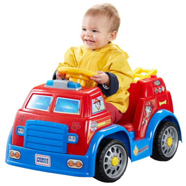 Power Wheels Nickelodeon PAW Patrol Fire Truck Just $79 Down From $120!