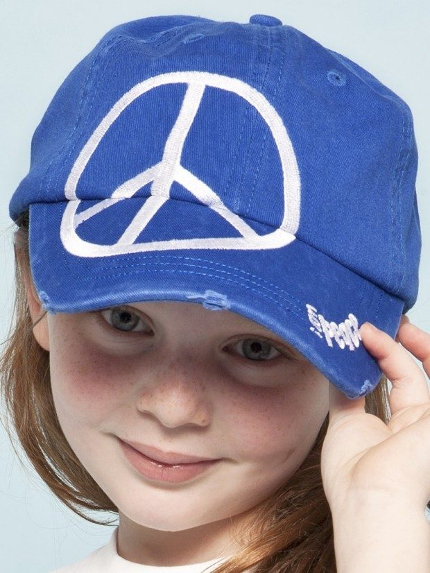 Blue Love2Love Kids Baseball Cap Only $14.40!