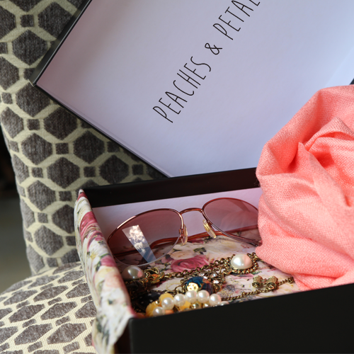 Peaches & Petals Subscription Box 1st Month Only $14.99 Plus FREE Shipping!