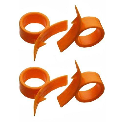 4 Round Orange (Citrus Fruit) Peelers Just $1.39! FREE Shipping!