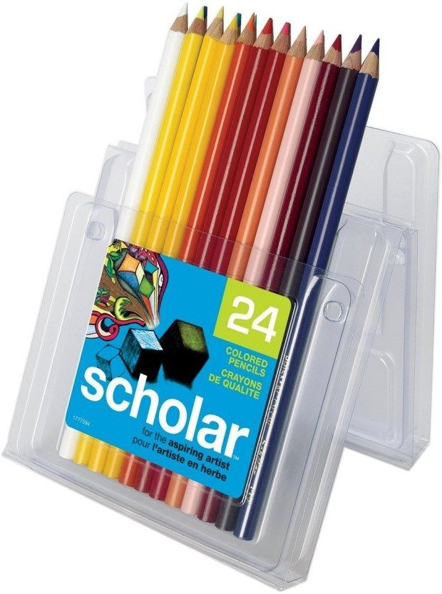 Prismacolor Scholar Colored Pencils, 24 Ct Just $10.88! (reg. $24)