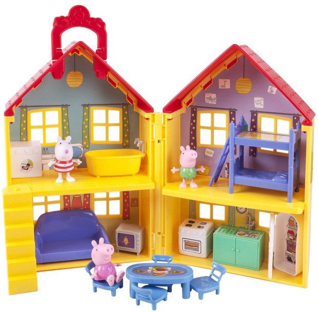Peppa Pig's Deluxe House Now Just $26.24!  (Reg. $35)