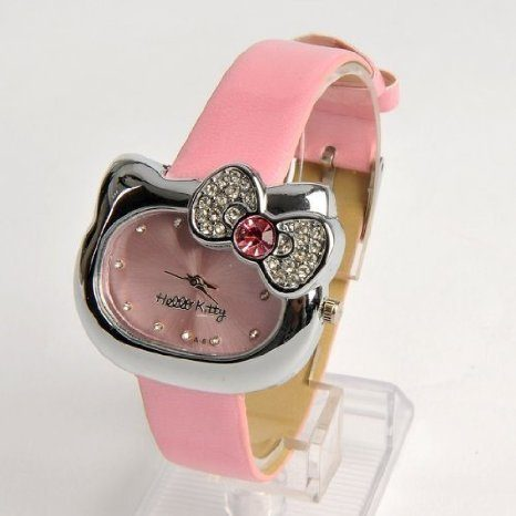 Pink Hello Kitty Watch Only $7.68 (Reg. $53.60)!
