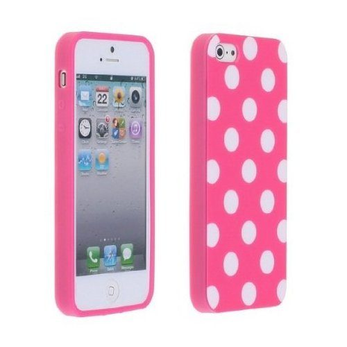 Pink Polka Dot iPhone 5 Case Just $1.98 (Reg. $9.88)!
