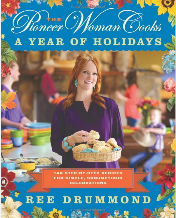 The Pioneer Woman Cooks: A Year of Holidays Cookbook Just $16.49!  Down From $30!