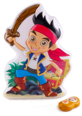 Uncle Milton Wall Friends Jake & The Never Land Pirates Talking Room Light Just $20 Down From $40!