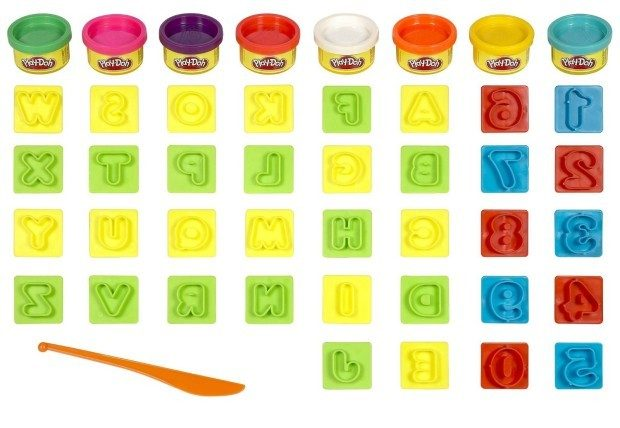 Play-Doh Numbers Letters N Fun Art Toy Only $5.99!  (Reg. $12)