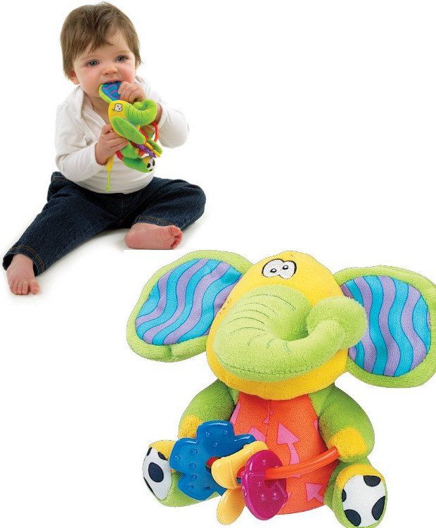 PlayGro Playmate Elephant Baby Toy Only $4.32!  (Reg. $13!)