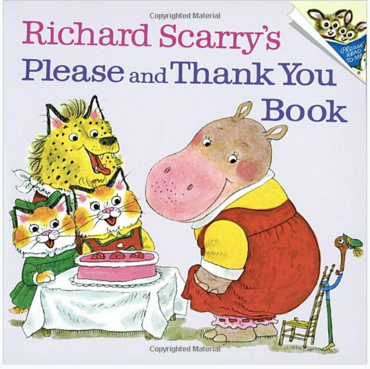 Richard Scarry's Please And Thank You Book Just $2.50 Down From $5!