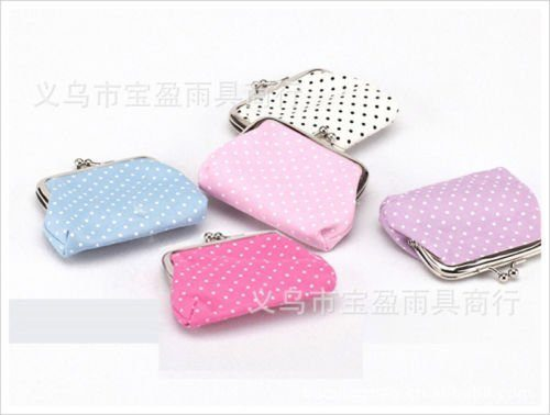 Polka Dot Coin Purse Only $2.20 + FREE Shipping!