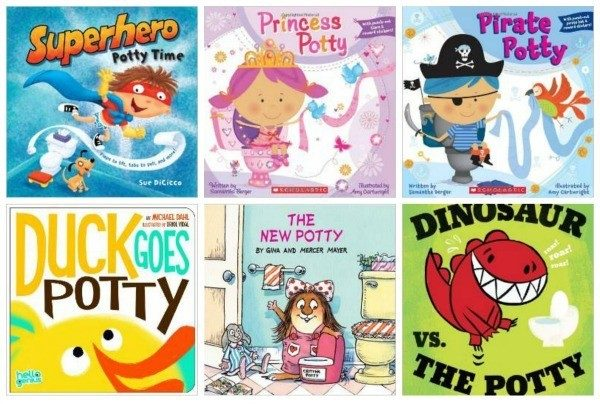 15 Books for Potty Training Kids