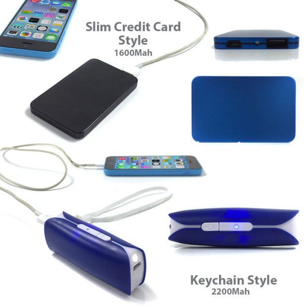 4 pack of Portable Rechargeable Power Banks Only $9.99! Ships FREE!